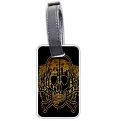 Virus Computer Encryption Trojan Luggage Tags (one Side)  by Nexatart
