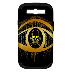 Virus Computer Encryption Trojan Samsung Galaxy S Iii Hardshell Case (pc+silicone) by Nexatart