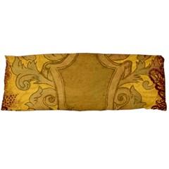 Vintage Scrapbook Old Ancient Body Pillow Case Dakimakura (two Sides) by Nexatart