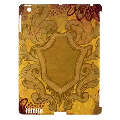 Vintage Scrapbook Old Ancient Apple Ipad 3/4 Hardshell Case (compatible With Smart Cover)