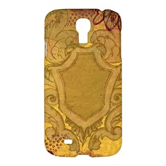 Vintage Scrapbook Old Ancient Samsung Galaxy S4 I9500/i9505 Hardshell Case by Nexatart