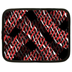 Weave And Knit Pattern Seamless Netbook Case (xl)