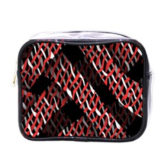 Weave And Knit Pattern Seamless Mini Toiletries Bags