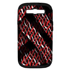 Weave And Knit Pattern Seamless Samsung Galaxy S Iii Hardshell Case (pc+silicone)
