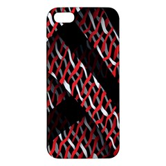 Weave And Knit Pattern Seamless Apple Iphone 5 Premium Hardshell Case by Nexatart