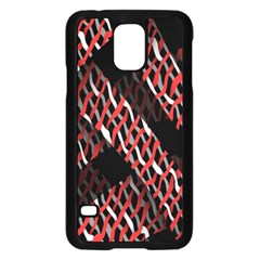 Weave And Knit Pattern Seamless Samsung Galaxy S5 Case (black)