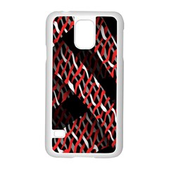 Weave And Knit Pattern Seamless Samsung Galaxy S5 Case (white)
