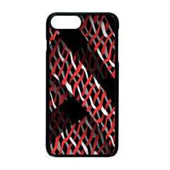 Weave And Knit Pattern Seamless Apple Iphone 7 Plus Seamless Case (black) by Nexatart