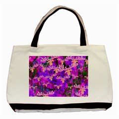 Watercolour Paint Dripping Ink Basic Tote Bag by Nexatart