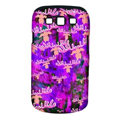 Watercolour Paint Dripping Ink Samsung Galaxy S Iii Classic Hardshell Case (pc+silicone)