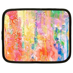 Watercolour Watercolor Paint Ink Netbook Case (xl)