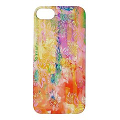 Watercolour Watercolor Paint Ink Apple Iphone 5s/ Se Hardshell Case