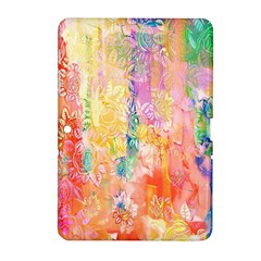 Watercolour Watercolor Paint Ink Samsung Galaxy Tab 2 (10 1 ) P5100 Hardshell Case  by Nexatart