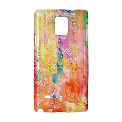 Watercolour Watercolor Paint Ink Samsung Galaxy Note 4 Hardshell Case by Nexatart