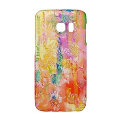 Watercolour Watercolor Paint Ink Galaxy S6 Edge by Nexatart