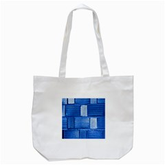 Wall Tile Design Texture Pattern Tote Bag (white)