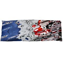 Water Reflection Abstract Blue Body Pillow Case Dakimakura (two Sides)