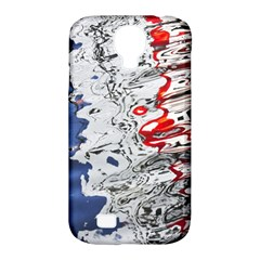 Water Reflection Abstract Blue Samsung Galaxy S4 Classic Hardshell Case (pc+silicone)
