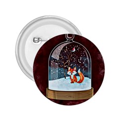 Winter Snow Ball Snow Cold Fun 2 25  Buttons