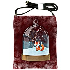 Winter Snow Ball Snow Cold Fun Shoulder Sling Bags by Nexatart