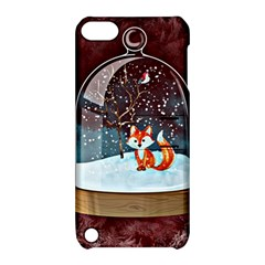 Winter Snow Ball Snow Cold Fun Apple Ipod Touch 5 Hardshell Case With Stand