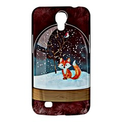 Winter Snow Ball Snow Cold Fun Samsung Galaxy Mega 6 3  I9200 Hardshell Case
