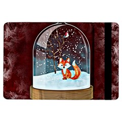 Winter Snow Ball Snow Cold Fun iPad Air Flip by Nexatart