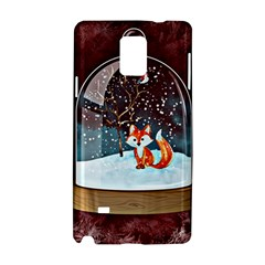 Winter Snow Ball Snow Cold Fun Samsung Galaxy Note 4 Hardshell Case