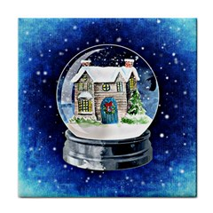 Winter Snow Ball Snow Cold Fun Tile Coasters by Nexatart