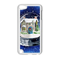 Winter Snow Ball Snow Cold Fun Apple Ipod Touch 5 Case (white) by Nexatart