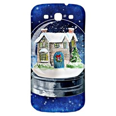 Winter Snow Ball Snow Cold Fun Samsung Galaxy S3 S Iii Classic Hardshell Back Case by Nexatart