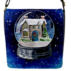Winter Snow Ball Snow Cold Fun Flap Messenger Bag (s) by Nexatart
