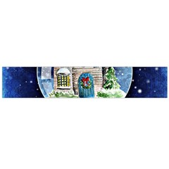 Winter Snow Ball Snow Cold Fun Flano Scarf (large) by Nexatart