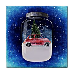 Winter Snow Ball Snow Cold Fun Tile Coasters