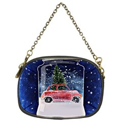 Winter Snow Ball Snow Cold Fun Chain Purses (one Side)  by Nexatart