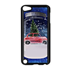 Winter Snow Ball Snow Cold Fun Apple Ipod Touch 5 Case (black)