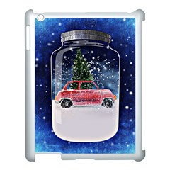 Winter Snow Ball Snow Cold Fun Apple Ipad 3/4 Case (white)