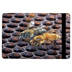 Worker Bees On Honeycomb Ipad Air Flip by Nexatart