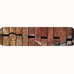 Wood Logs Wooden Background Large Bar Mats by Nexatart