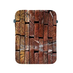 Wood Logs Wooden Background Apple Ipad 2/3/4 Protective Soft Cases