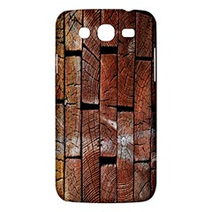 Wood Logs Wooden Background Samsung Galaxy Mega 5 8 I9152 Hardshell Case