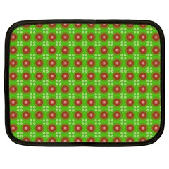 Wrapping Paper Christmas Paper Netbook Case (xl)