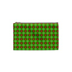 Wrapping Paper Christmas Paper Cosmetic Bag (small)