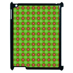 Wrapping Paper Christmas Paper Apple Ipad 2 Case (black) by Nexatart