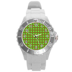 Wrapping Paper Christmas Paper Round Plastic Sport Watch (l)