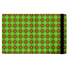 Wrapping Paper Christmas Paper Apple Ipad 2 Flip Case by Nexatart