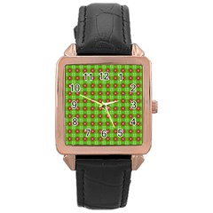 Wrapping Paper Christmas Paper Rose Gold Leather Watch
