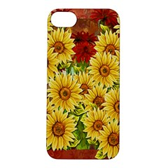 Sunflowers Flowers Abstract Apple Iphone 5s/ Se Hardshell Case