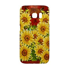Sunflowers Flowers Abstract Galaxy S6 Edge