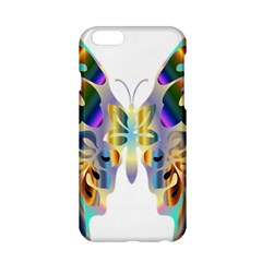 Abstract Animal Art Butterfly Apple Iphone 6/6s Hardshell Case